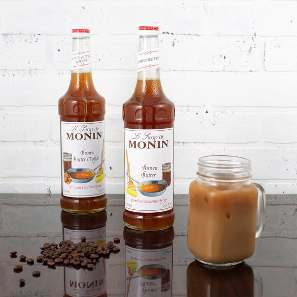c7abf19515e Monin 750 mL Premium Brown Butter Flavoring Syrup. Image Preview  Main  Picture