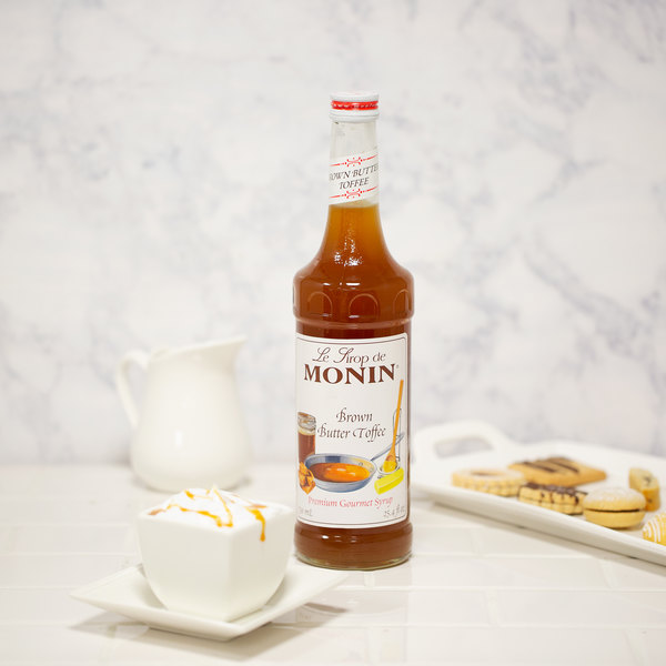 8a5dfbcc965 Monin 750 mL Premium Brown Butter Toffee Flavoring Syrup. Image Preview ...