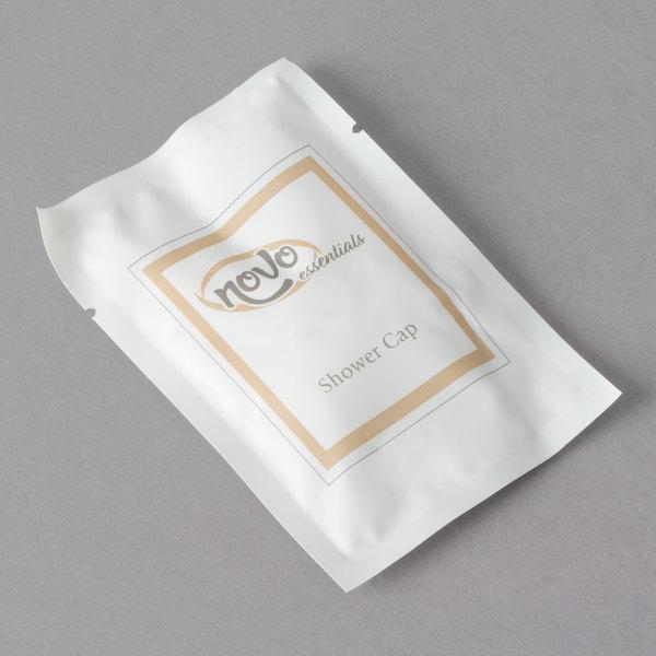 Novo Essentials Hotel and Motel Shower Cap - 100/Bag
