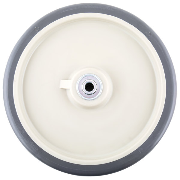 """10"""" Beige Wheel for Cambro ICS175LB and IC175 Ice Bins, DC575, DC700 DC825, DC1225, and ADCS Dish Caddies, and CMB1826 Combo Carts"""
