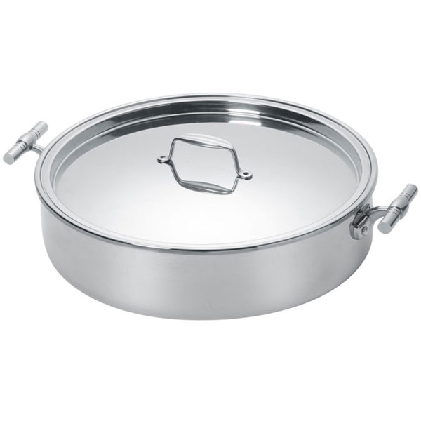Eastern Tabletop 5924 4 Qt Mirrored Stainless Steel Induction Pot