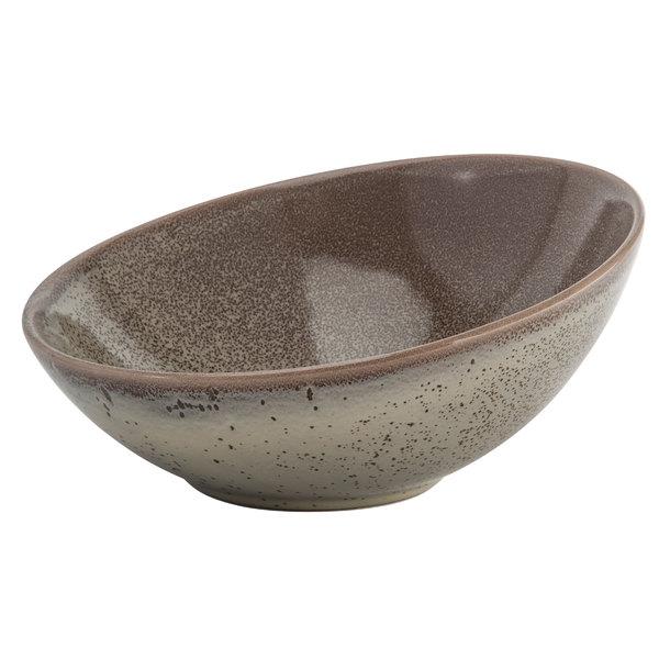 Oneida F1493015730 Terra Verde Natural 18 5 Oz Porcelain Slanted Bowl 12 Case
