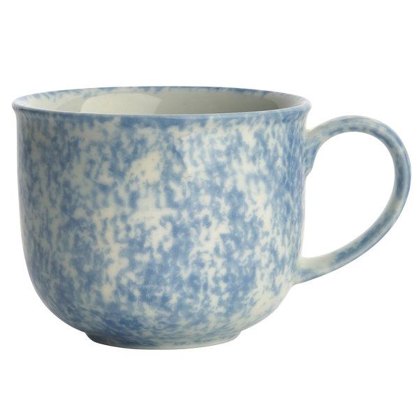 Oneida F1463060042 Studio Pottery Cloud 11.75 oz. Porcelain Mug - 24/Case
