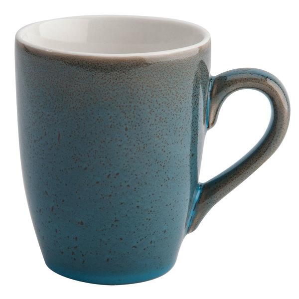 Oneida F1493020563 Terra Verde Dusk 11 oz. Porcelain Mug - 36/Case