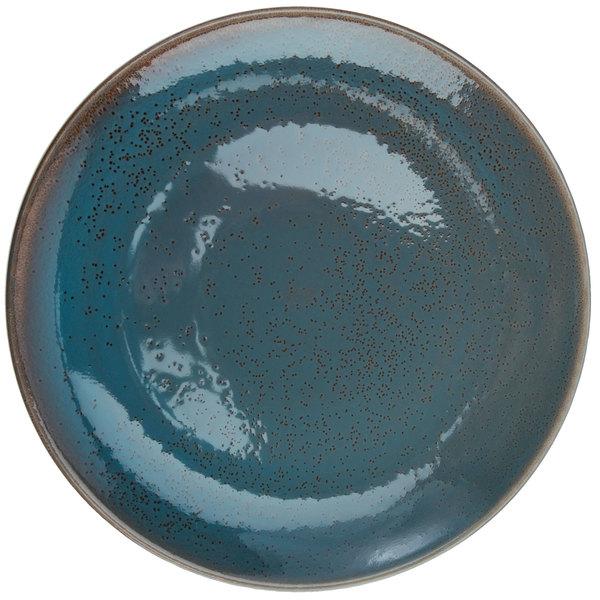 Oneida F1493020150 Terra Verde Dusk 10 1 4 Porcelain Round Coupe Plate 12 Case