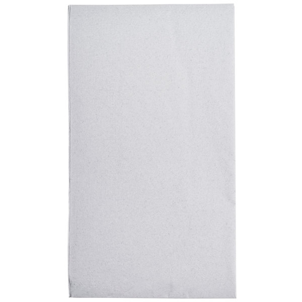 Dove Gray Paper Dinner Napkins, 2-Ply, 15 inch x 17 inch - Hoffmaster 180518 - 1000/Case