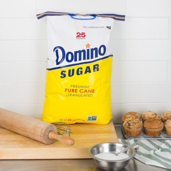 Domino Pure Cane Granulated Sugar - 25 lb. Main Image 7