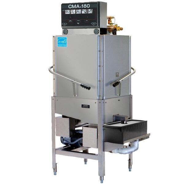 CMA Dishmachines CMA-180C Single Rack High Temperature Corner Dishwasher - 208/240V, 3 Phase