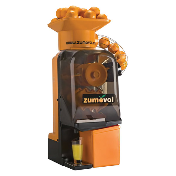 Zumoval Minimatic Compact Automatic Feed Orange Juice Machine with Self Cleaning Feature - 15 Oranges / Minute Main Image 1