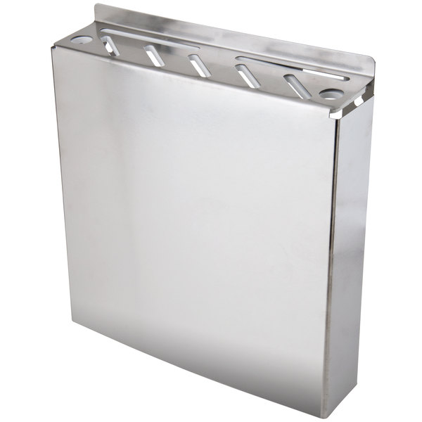 7 Slot Stainless Steel Wall-Mount Knife Rack