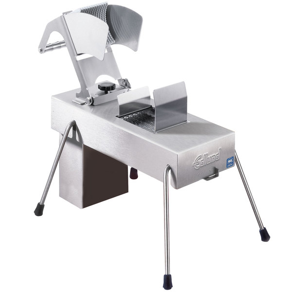 """Edlund 356 Electric Fruit and Vegetable Slicer with Two 3/16"""" Blade Assemblies - 230V"""