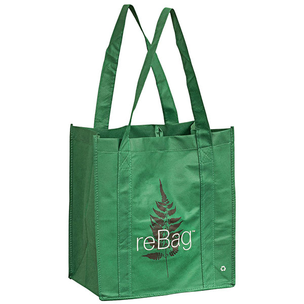 ReBag Reusable Green Grocery Bag - 50/Case Main Image 1