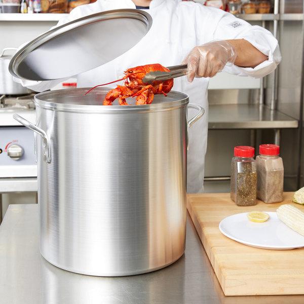 Vollrath 68270 Wear-Ever 40 Qt. Boiler / Fryer Set Main Image 3