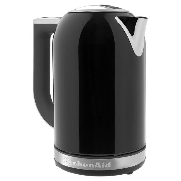 Swell Kitchenaid Kek1722Ob 1 7 Liter Stainless Steel Onyx Black Electric Kettle 120V 2400W Download Free Architecture Designs Grimeyleaguecom