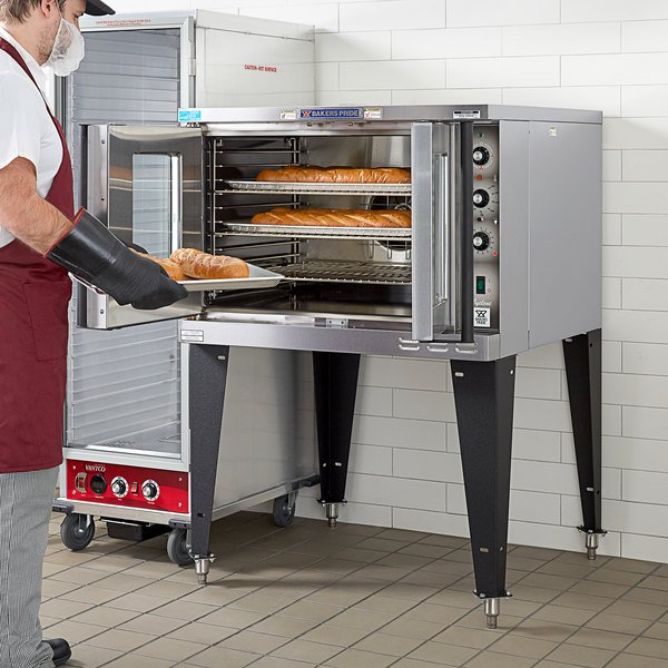 Bakers Pride BCO-E1 Cyclone Series Single Deck Full Size Electric Convection Oven - 220-240V, 1 Phase, 10500W Main Image 5