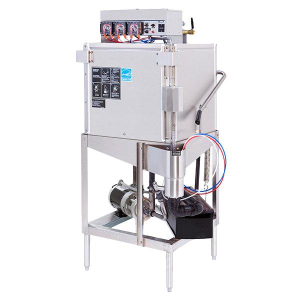 Champion DL2000 Single Rack Low Temperature Door-Type Dishwasher - 115V