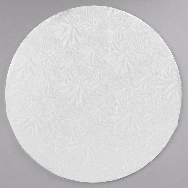6 count 10 White Round Thin Drum 1//4