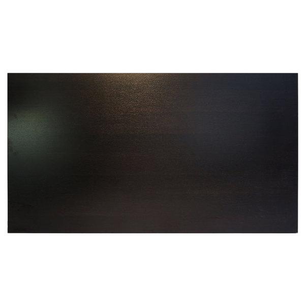 """BFM Seating EST3072 Midtown 30"""" x 72"""" Rectangular Indoor Tabletop - Espresso"""
