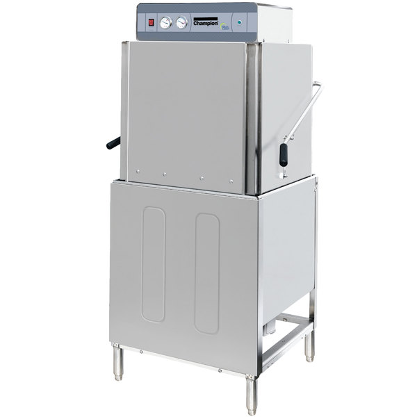 Champion DH2000 Single Rack High Temperature Door-Type Dishwasher - 208/240V, 3 Phase