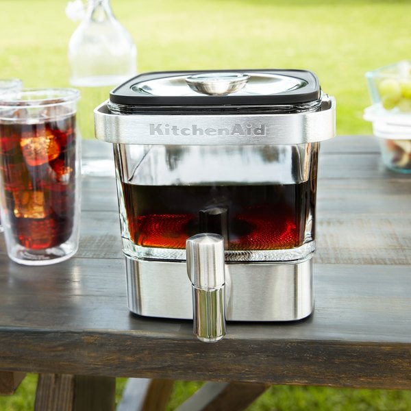 KitchenAid KCM4212SX Stainless Steel 14 Cup Cold Brew Coffee Maker Main Image 3