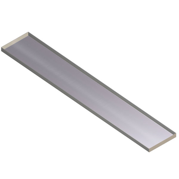APW Wyott 32010181 Stainless Steel Dish Shelf for 4 Well Sealed Element Steam Table