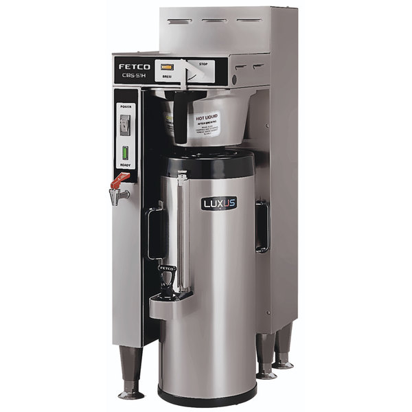 Fetco CBS-51H-15 C51056 Stainless Steel Single Automatic Coffee Brewer - 120/208-240V Scratch and Dent