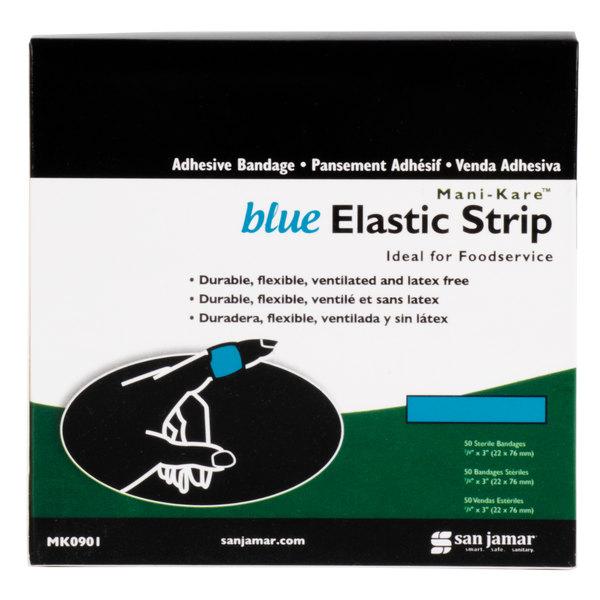 San Jamar MK0901 Mani-Kare Strip Bandage - 50/Box