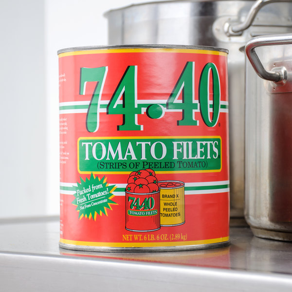Stanislaus #10 Can 74-40 Tomato Filets