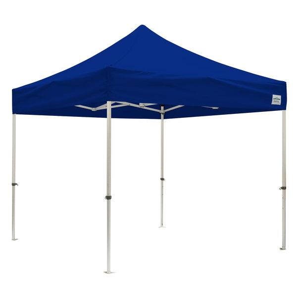 Caravan Canopy 21003805020 Magnum II 10' x 10' Blue Instant Canopy Basic Kit Main Image 1
