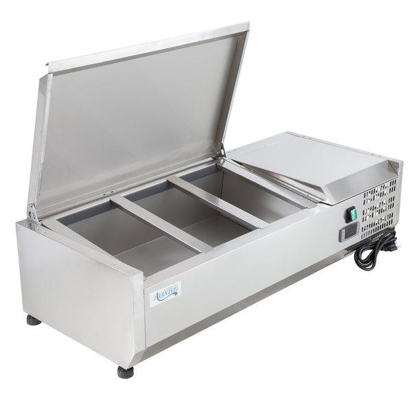 40 Countertop Refrigerated Prep Rail