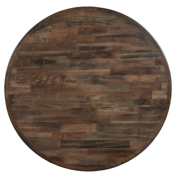 "Buy Butcher Block Table Top: Lancaster Table & Seating 30"" Round Recycled Wood Butcher"
