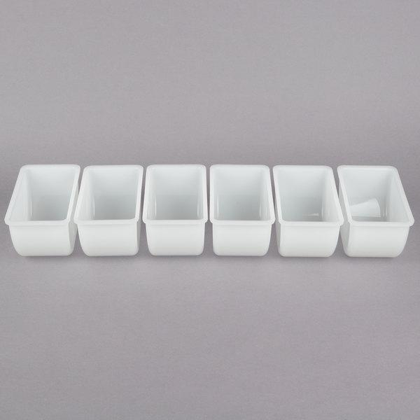 1 each 2 PACK Tablecraft Plastic Gray Toothpick Dispenser