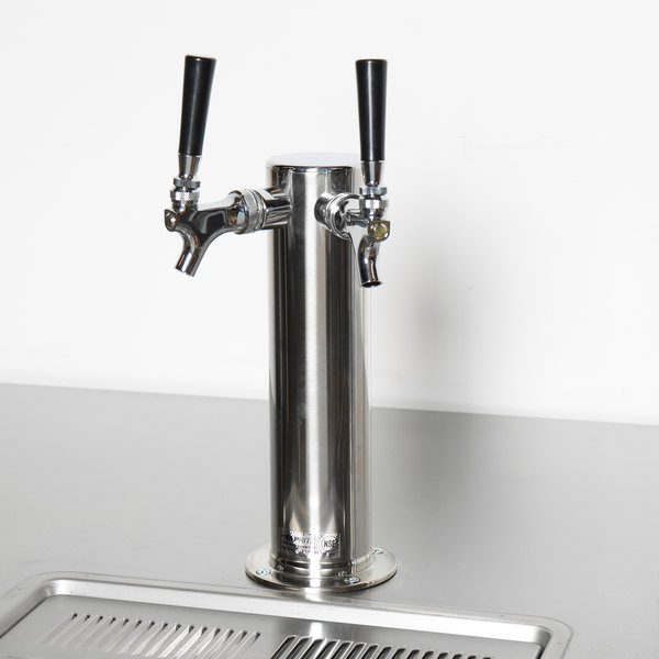 "Beverage Air 406-054A Dual Angle 3"" Diameter Tap Tower"