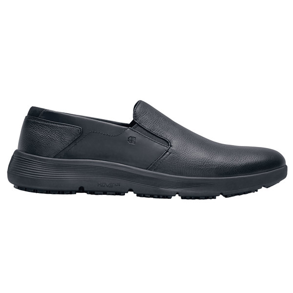 Shoes For Crews 49166 Arden Men's Black Water-Resistant Soft Toe Non-Slip Casual Shoe