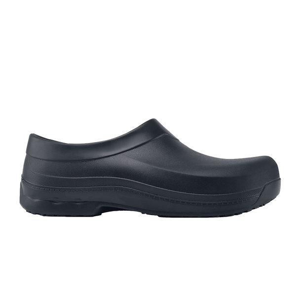 Shoes For Crews 61582 Radium Unisex Black Water-Resistant Soft Toe Non-Slip Casual Shoe Main Image 1