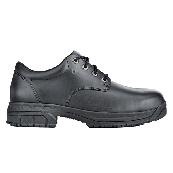 6872b13207f Shoes For Crews 79333 Cade Men's Black Water-Resistant Steel Toe Non-Slip  Work Boot