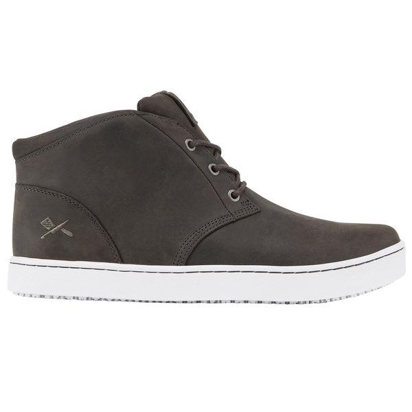 2003fd7d5080 MOZO M33850 Finn Chukka Men s Gray Water-Resistant Soft Toe Non-Slip Casual  Shoe