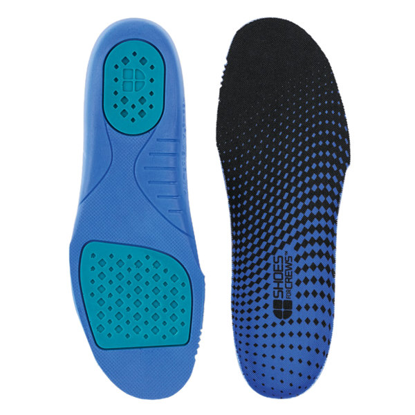 Shoes For Crews N2114 Unisex Blue / Black Comfort Insole with Gel
