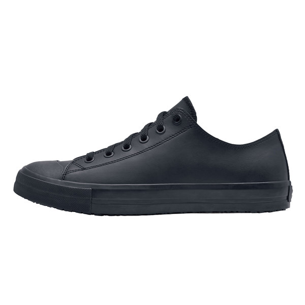 4bb6012e827d Shoes For Crews 38649 Delray Men s Black Water-Resistant Soft Toe Non-Slip  Leather. Main Picture · Image Preview