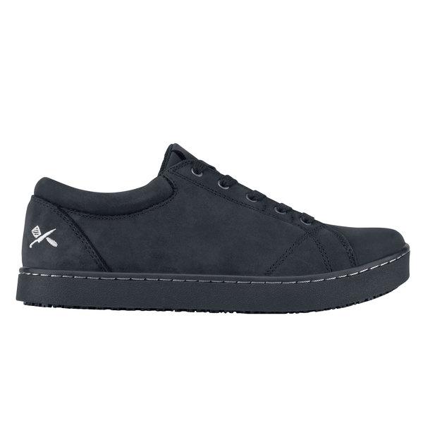 MOZO M39926 Mavi Women's Black Waterproof Soft Toe Non-Slip Casual Shoe