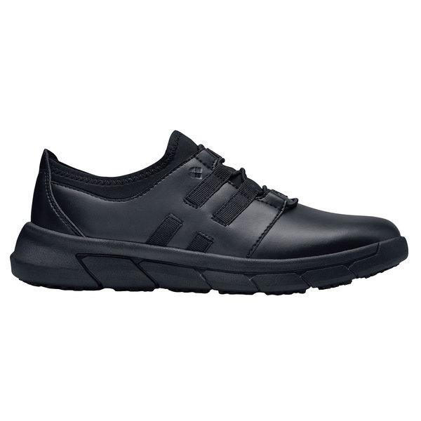 Shoes For Crews 36907 Karina Women's Black Water-Resistant Soft Toe Non-Slip Athletic Shoe