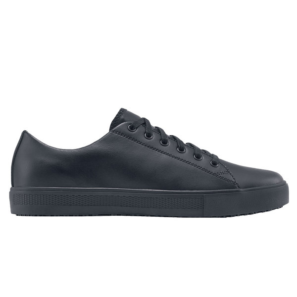 Shoes For Crews 39362 Old School Low Rider IV Women's Black Water-Resistant Soft Toe Non-Slip Casual Shoe