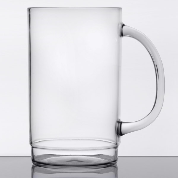 GET 00083 20 oz  SAN Plastic Customizable Beer Mug - 24/Case