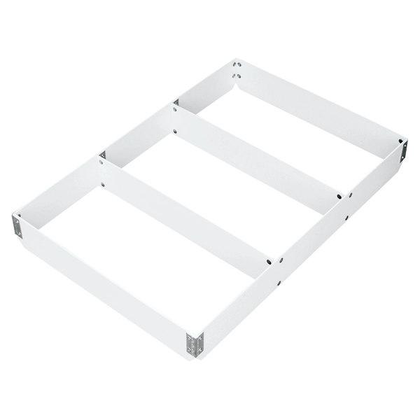 "MFG Tray 176313-1537 3"" High 3-Section Full-Size Fiberglass Sheet Pan Extender Divided Lengthwise Main Image 1"