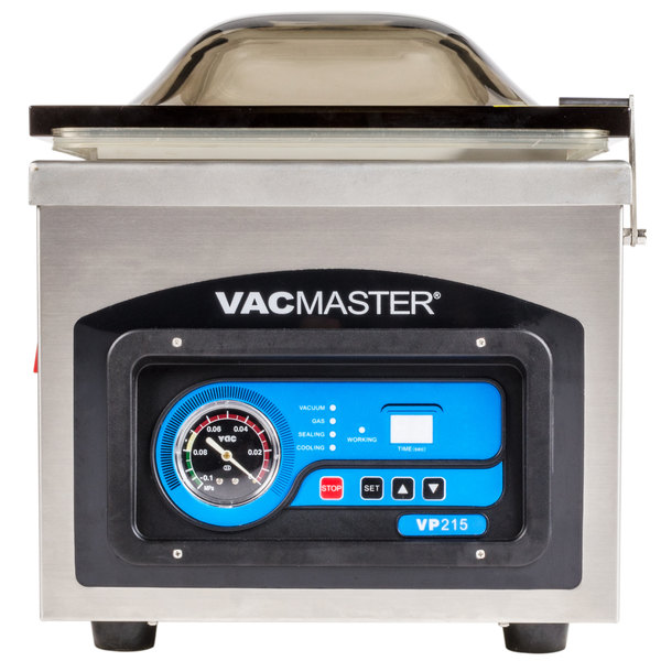 ARY VacMaster VP215 Chamber Vacuum Packaging Machine with 10 1/4 inch Seal Bar
