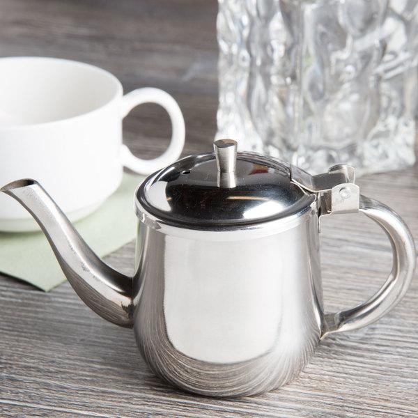 10 oz. Stainless Steel Gooseneck Teapot