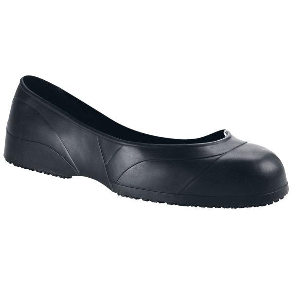 Shoes For Crews 50 Unisex Medium Width Black CrewGuard Slip-Resistant Overshoes Main Image 1