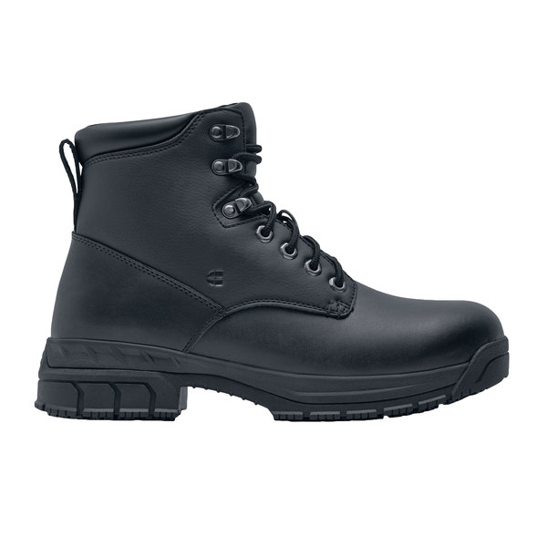 Shoes For Crews 60435 Rowan Men's Black Water-Resistant Soft Toe Non-Slip Work Boot