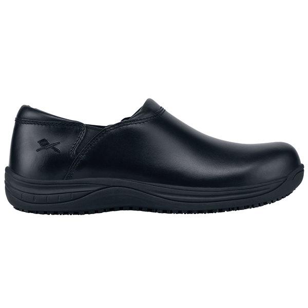 MOZO M43803 Forza Men's Black Water-Resistant Soft Toe Non-Slip Casual Shoe