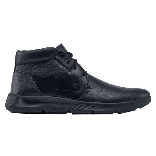 3cd5a4fffbac Shoes For Crews 49262 Holden Men s Black Water-Resistant Soft Toe Non-Slip  Hoverlite. Main Picture